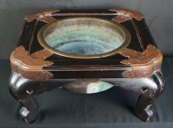 Antique Hibachi Edo craft 1800