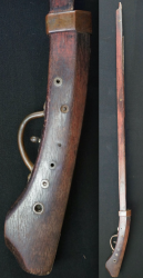 Antique musket 1700s