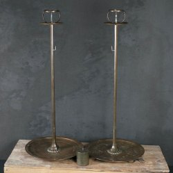 Antique Shokudai candle stand 1868