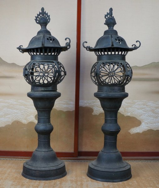 Antique shrine lamp 1828