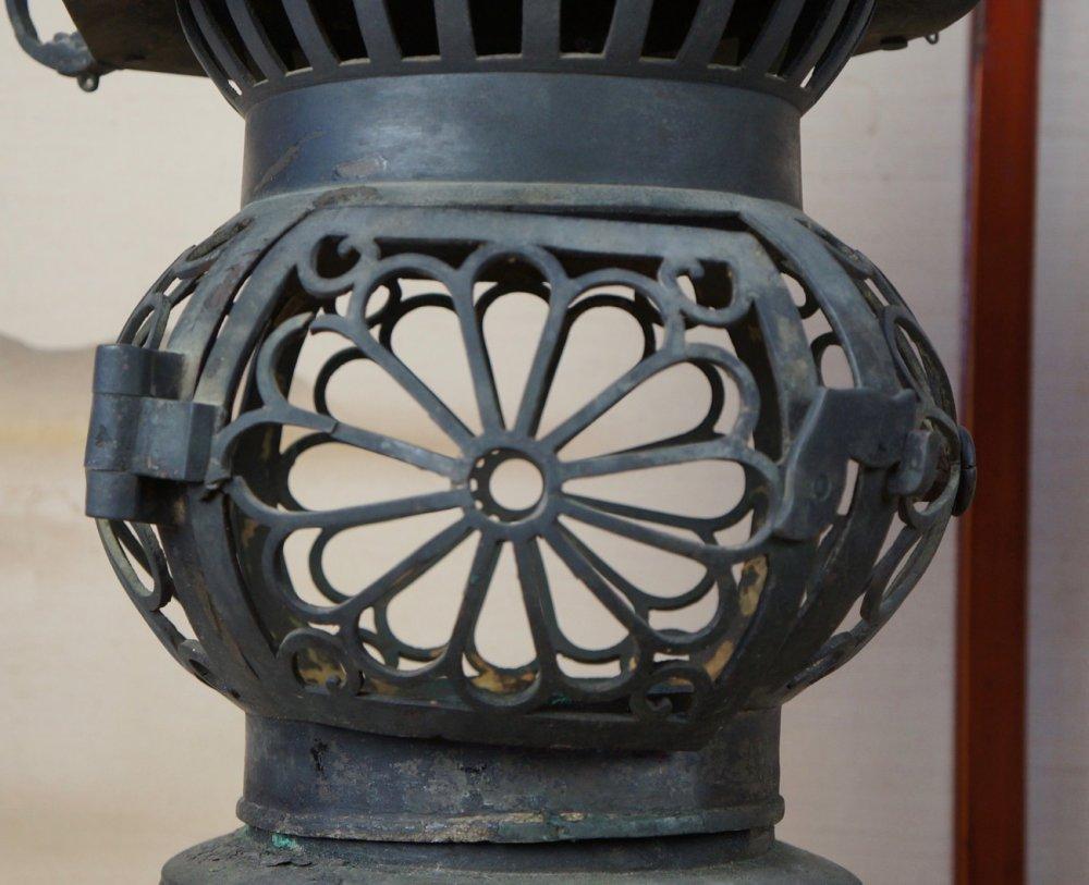 Antique Shrine Lamp 1828
