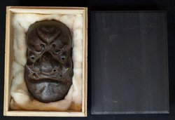 Antique Oni mask 1800s