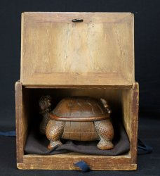 Antique bamboo carving 1800s