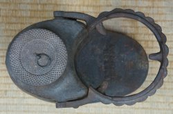 Cast iron Kama 1900s