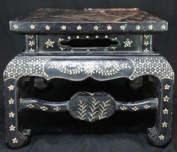 Antique Chinese lacquer table 1800