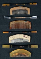GEisha hair set 1900