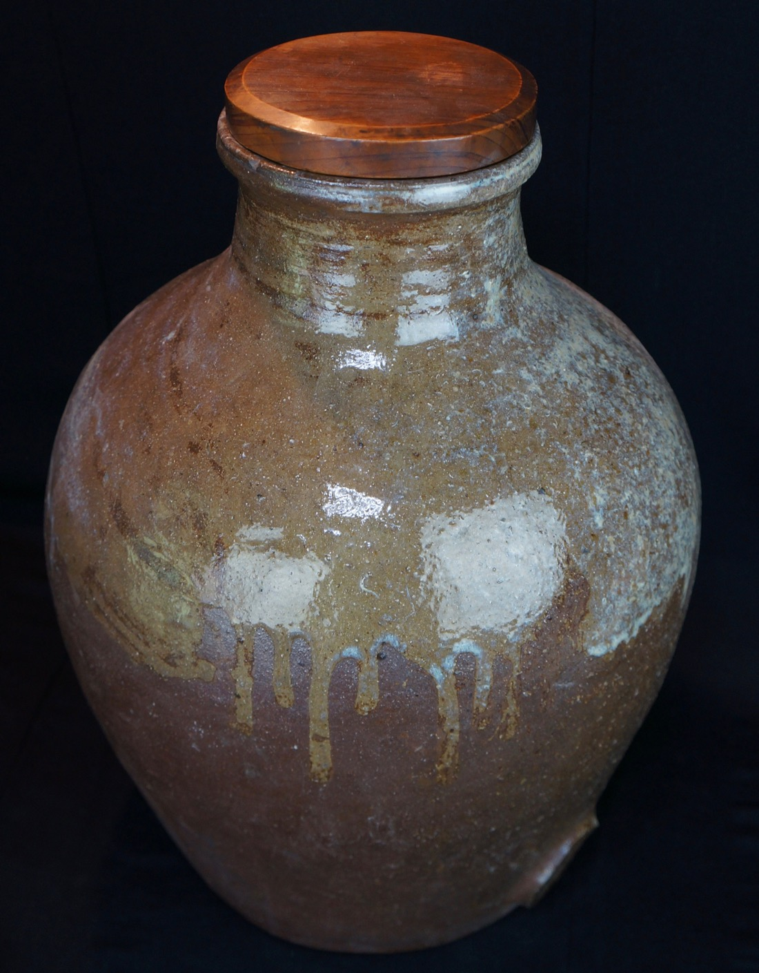 Antique tsubo japanese soyu jar ceramic vase 1890s yakimono art ebay cheaper shipping available on request reviewsmspy