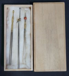 Kanzashi Edo hair pin 1800