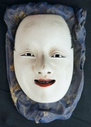 Noh theater mask 1800