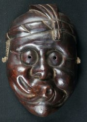 Rural folk mask 1890