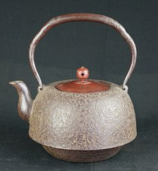 Sand cast Iron Kettle 1900s