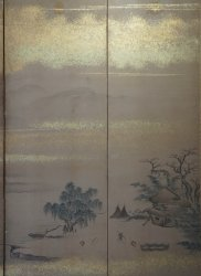 Sansui Byobu large screen 1880s