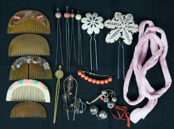 Vintage hair accessory 1900s